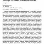 Anthologia 2007 Falerno del Massico Bianco Doc « Luciano Pignataro Wineblog (2)1