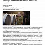 Anthologia 2008 Falerno del Massico Bianco Doc « Luciano Pignataro Wineblog (2)1