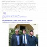 Diodato Buonora News » La cantina Barone di Rutino, grandi vini con… Mercurio1