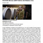 Etichetta Bronzo 2004 Falerno del Massico doc « Luciano Pignataro Wineblog (2)1