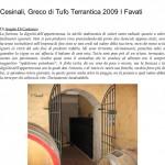 Cesinali, Greco di Tufo Terrantica 2009 I Favati _ L' A r c a n t e-1