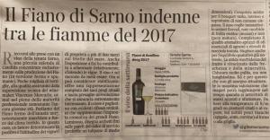 Corriere Tenuta Sarno