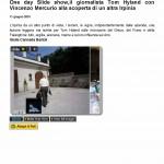 One day Slide show,il giornalista Tom Hyland con Vincenzo Mercurio alla scoperta di un altra Irpinia « Luciano Pignataro Wineblog