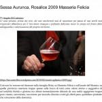 Sessa Aurunca, Rosalice 2009 Masseria Felicia _ L' A r c a n t e-1