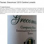 Taurasi, Grecomusc' 2010 Cantine Lonardo _ L' A r c a n t e-1