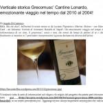 Verticale storica Grecomusc' Cantine Lonardo, emozionante viaggio nel tempo dal 2010 al 2004! _ L' A r c a n t e-1